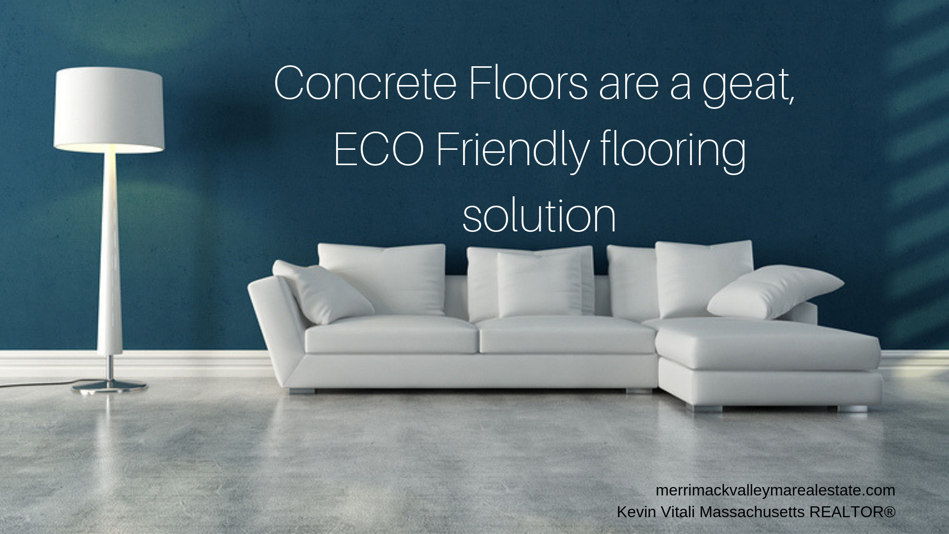 Concrete- eco-friendly flooring option